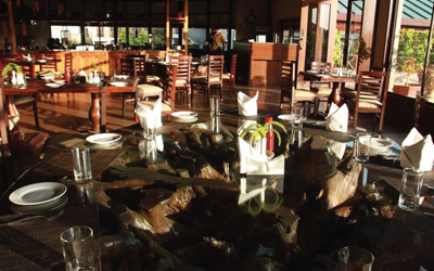 Aahana Resort Corbett Restaurants