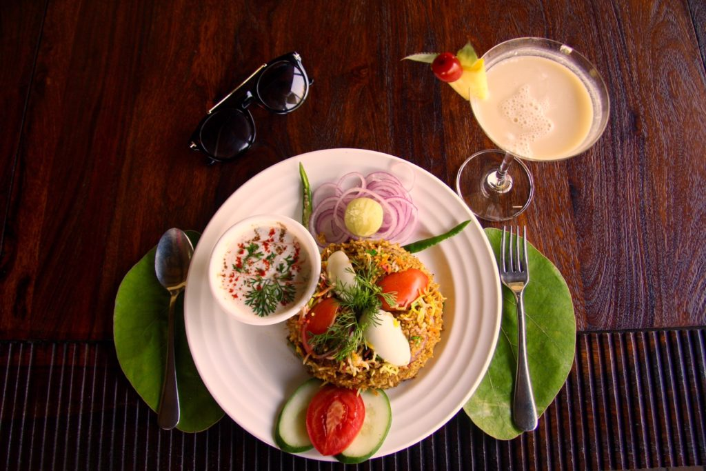 Lavish Dish Being Served AT Aahana (1)