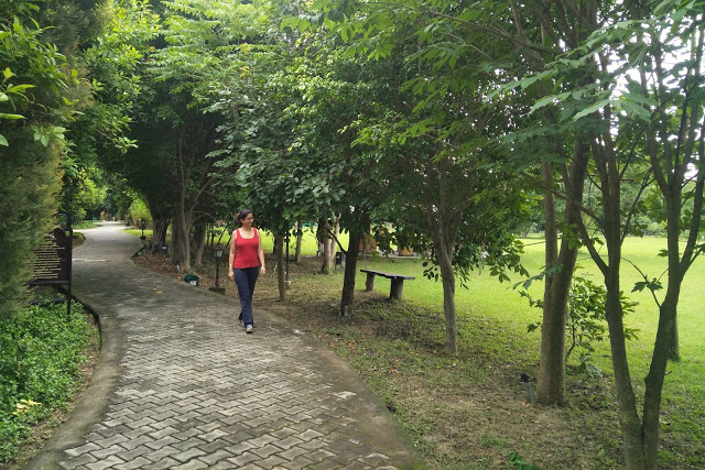 aahana morning walk pathway
