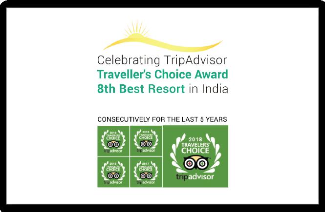 8th best resort in india tripadvisor traveller choice