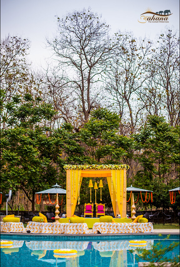 traditional wedding in jim corbett